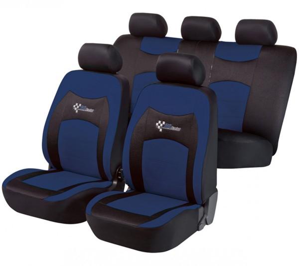 Daihatsu Justy, Housse siège auto, kit complet, noir, bleu