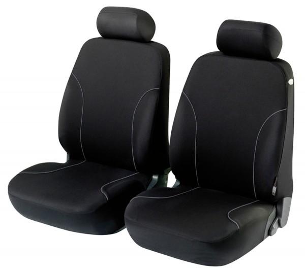 Hyundai i20, Housse siège auto, sièges avant, noir,