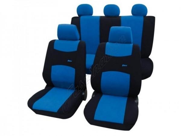 Housses pour sièges de voitures auto, Kit complet, Audi 80 Avant ,bleu noir