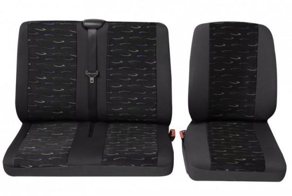 Transporter autositzbezug sitzbezug 1 x monoplace 1 x for Housse de coussin anglais