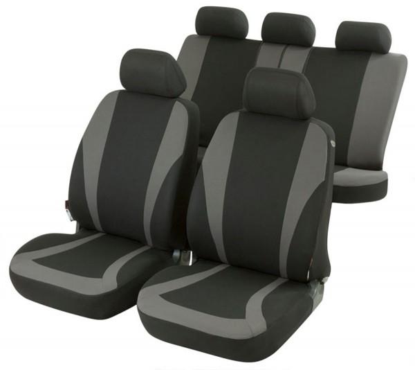 Landrover, Housse siège auto, kit complet, noir, gris