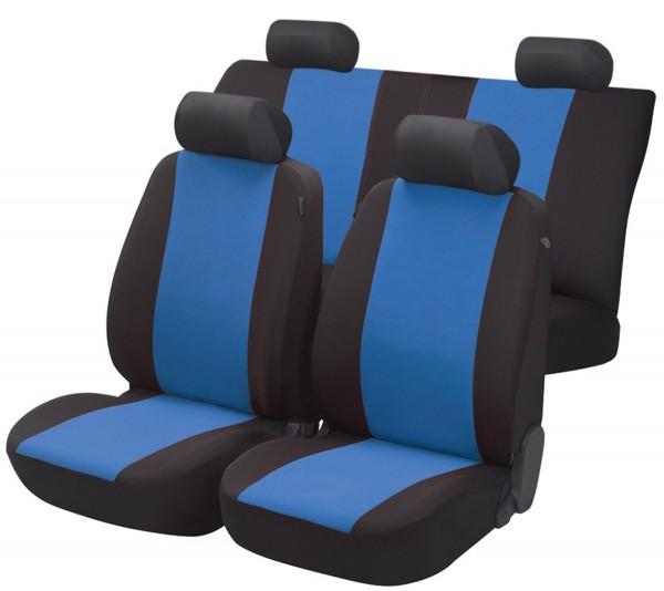 Landrover, Housse siège auto, kit complet, noir, bleu,