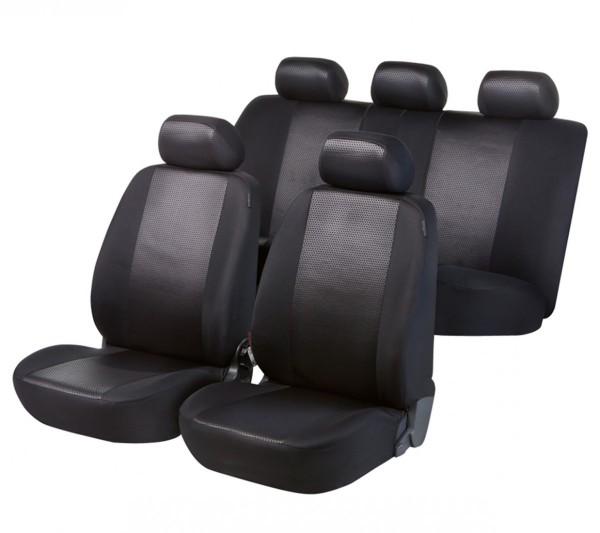 Toyota Prius, Housse siège auto, kit complet, noir,