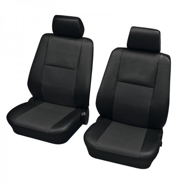 Housses pour sièges de voitures auto, Garniture pour sièges avants, Audi 80 Avant ,noir anthracite
