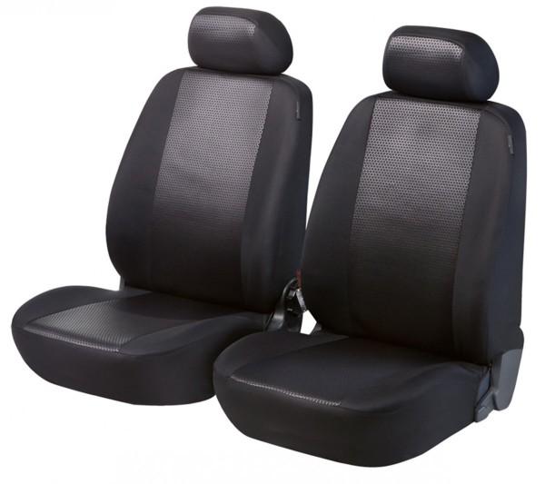 Hyundai ix35, Housse siège auto, sièges avant, noir,