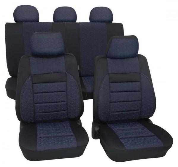 Landrover Sitzbezüge komplett, Housse siège auto, kit complet, noir, bleu