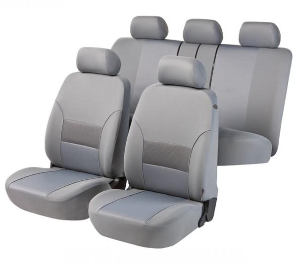 Daihatsu Justy, Housse siège auto, kit complet, gris,