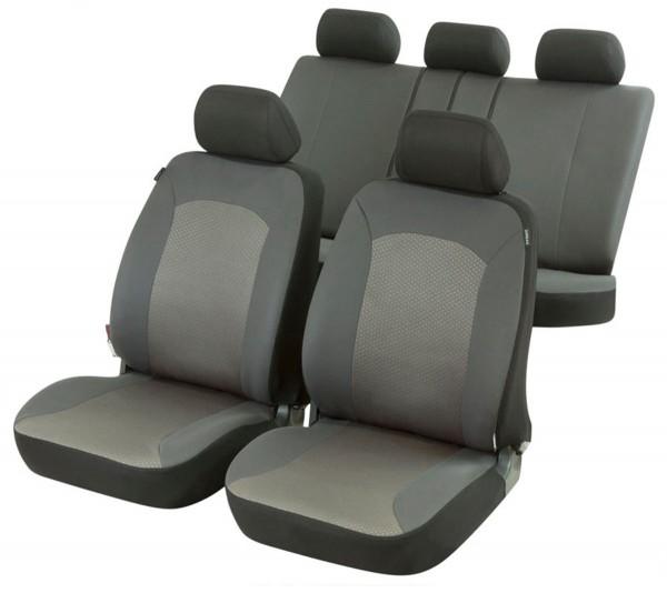 Citroen Xantia, Housse siège auto, kit complet, gris,