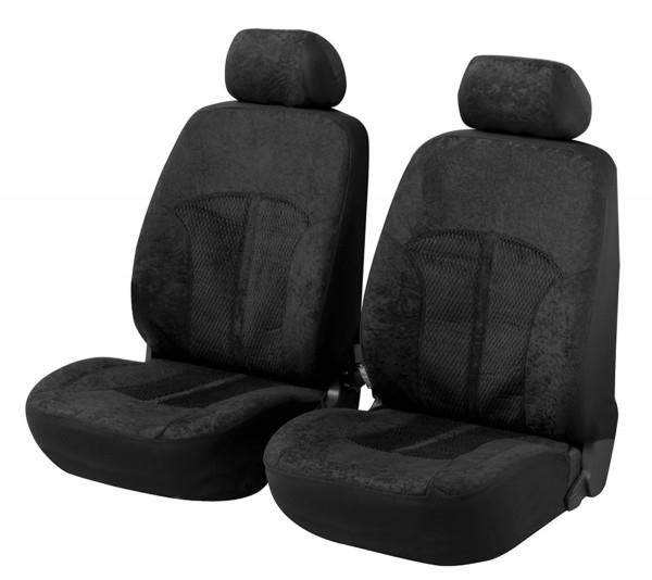 Kia Soul, Housse siège auto, sièges avant, noir,