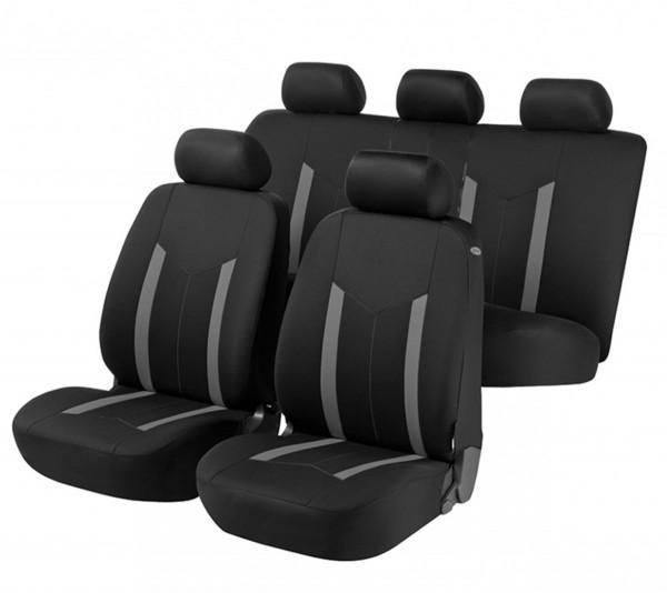 Dacia Sandero, Housse siège auto, kit complet, noir, gris