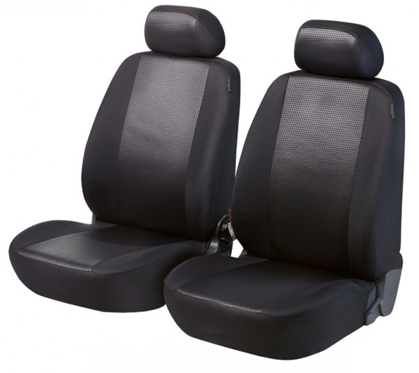 Daihatsu Justy, Housse siège auto, sièges avant, noir,