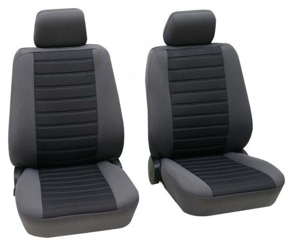 Toyota nur Vordersitzbezüge, Housse siège auto, sièges avant, noir, gris